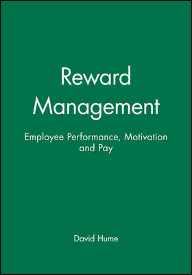 Reward Management by David Hume