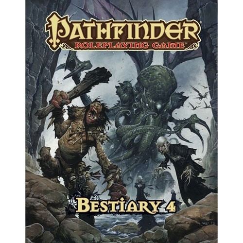 Pathfinder Roleplaying Game: Bestiary 4 image