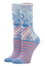 Marvel: Captain America - Juniors Faded Neon Socks