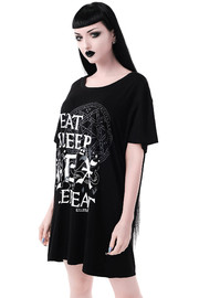 Killstar: Hex & Repeat Sleep-Shirt - L image