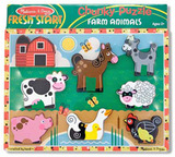 Melissa & Doug: Farm Chunky Wooden Puzzle
