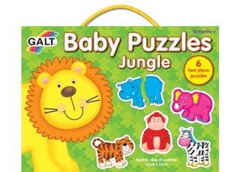 Galt Baby Puzzles - Jungle (Set 6) image