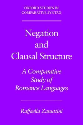 Negation and Clausal Structure by Raffaella Zanuttini