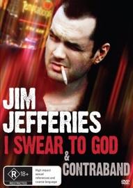 Jim Jeffries: I Swear to God & Contraband on DVD