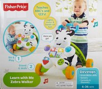 Fisher-Price: Learn with Me Zebra Walker
