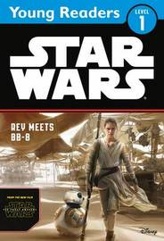 Star Wars The Force Awakens: Rey Meets BB-8 by Lucasfilm Ltd