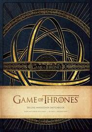Game of Thrones: Deluxe Hardcover Sketchbook by HBO