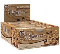 Quest Nutrition - Quest Bar Box of 12 (Oatmeal Chocolate Chip)