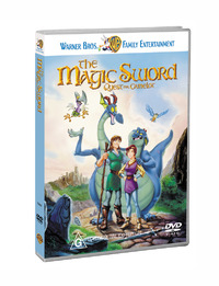 The Magic Sword - Quest for Camelot on DVD image
