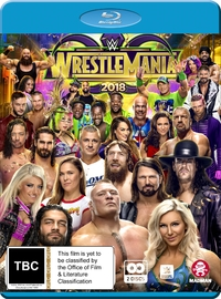 WWE: Wrestlemania 34 on Blu-ray