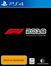 F1 2018 for PS4