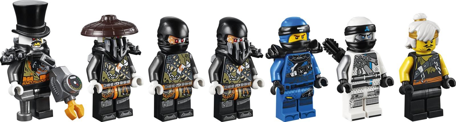 LEGO Ninjago - Dieselnaut (70654) image