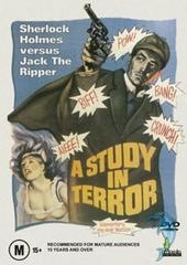 A Study In Terror on DVD