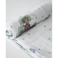 Little Unicorn: Cotton Muslin Swaddle - The Little Prince (Single) image