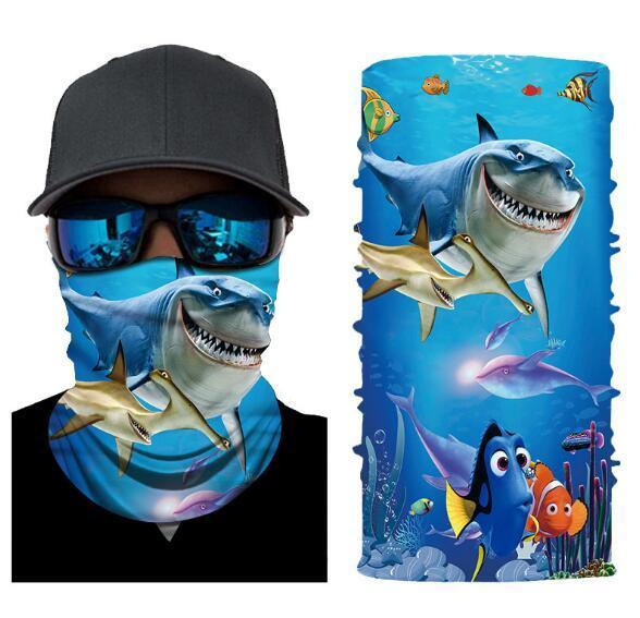 Ape Basics Unisex Multi Function Anti UV Fishing Neck Gaiter Face Scarf & Mask