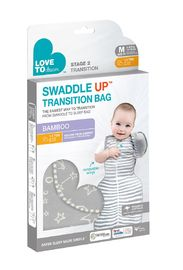 Love to Dream: Swaddle Up Transition Sleeping Bag - Bamboo Grey