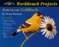 American Goldfinch by Victor Paroyan