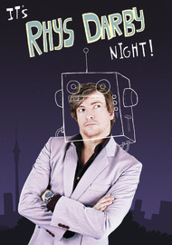 Rhys Darby - It's Rhys Darby Night! on DVD
