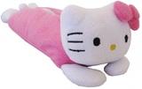 Hello Kitty - Classic Pink Plush Pencil Case