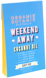 Organik Botanik - Weekend Away Hair & Facial Treatment Beauty Pack (Coconut Oil)