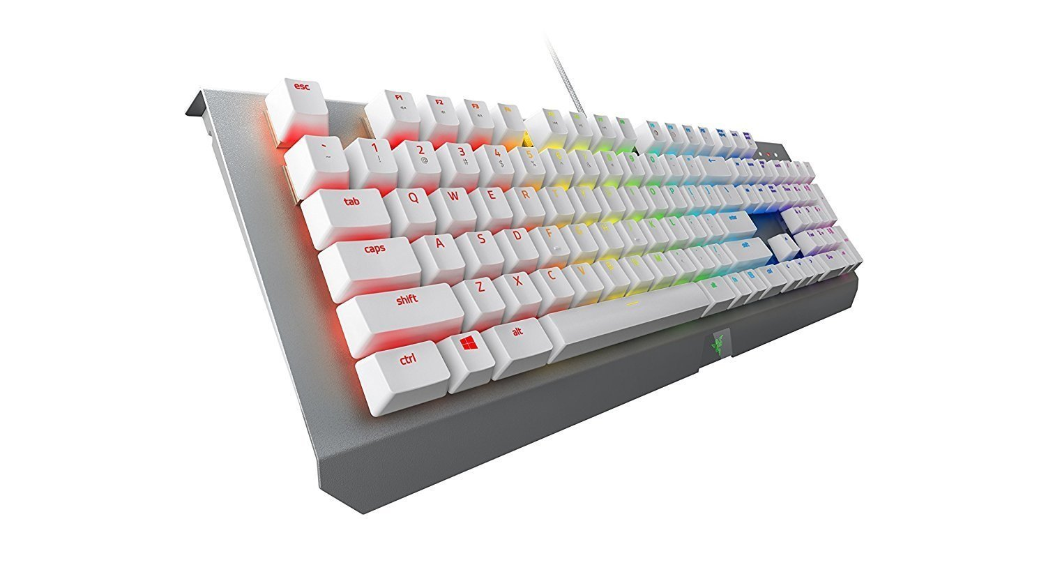 Razer BlackWidow Chroma X Gaming Keyboard - Mercury Edition for PC Games image