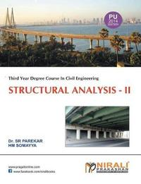 Structural Analysis II by Dr S R Parekar