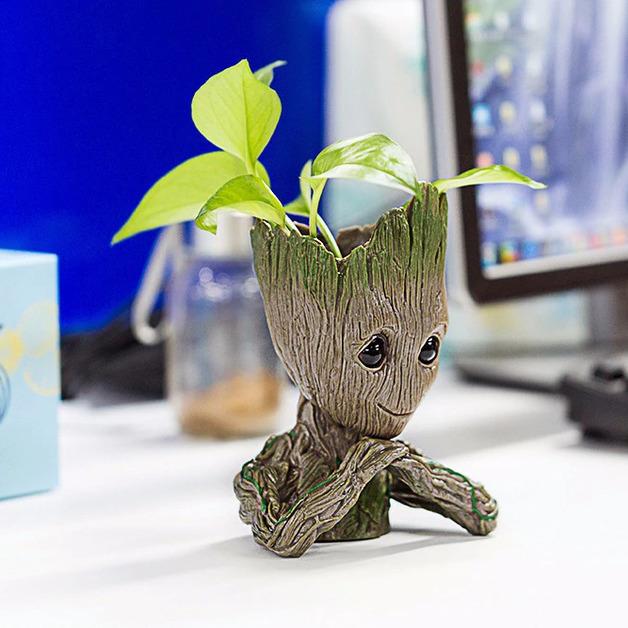 I am Planter - Tree Man Flower Pot Doll