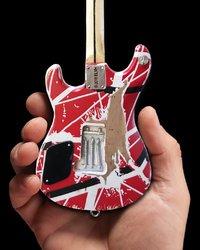 Axe Heaven: Miniature Replica - Eddie Van Halen Guitar (EVH 5150) image