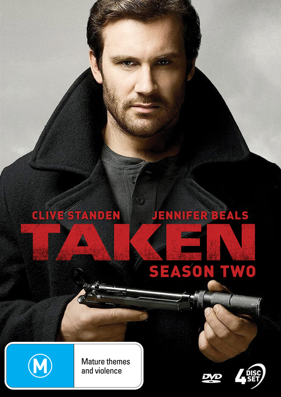 Taken - Season 2 on DVD