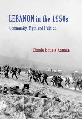 Lebanon 1860-1960 by Claude Kanaan image