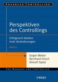 Perspektiven Des Controllings: Erfolgreich Bleiben Trotz Veranderungen by Almuth Spatz image
