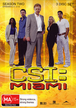 CSI - Miami: Season 2 - Episodes 2.1-2.12 (3 Disc Set) on DVD
