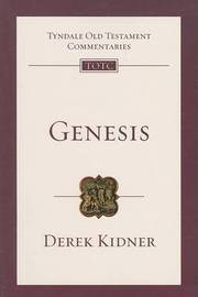 Genesis by Derek Kidner