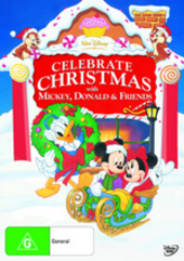 Celebrate Christmas With Mickey, Donald And Friends on DVD