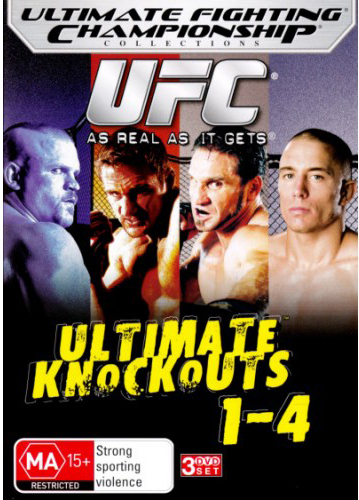 UFC Ultimate Knockouts 1-4 on DVD