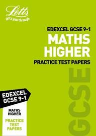 Edexcel GCSE Maths Higher Practice Test Papers by Letts GCSE image