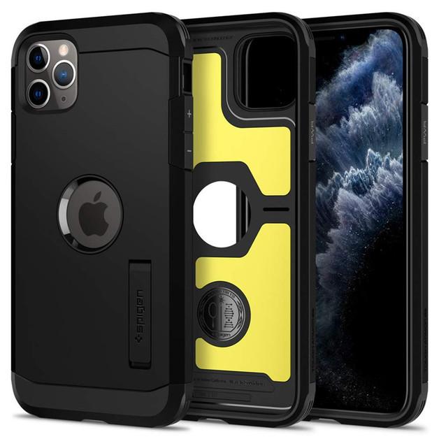Spigen: iPhone 11 Pro Max Tough Armor Case - Black