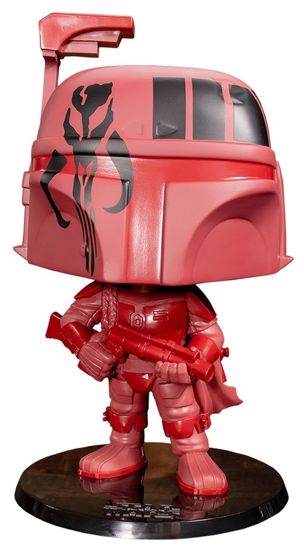 "Star Wars: Boba Fett (Red/Burgundy Ver.) - 10"" Super Sized Pop! Vinyl Figure"