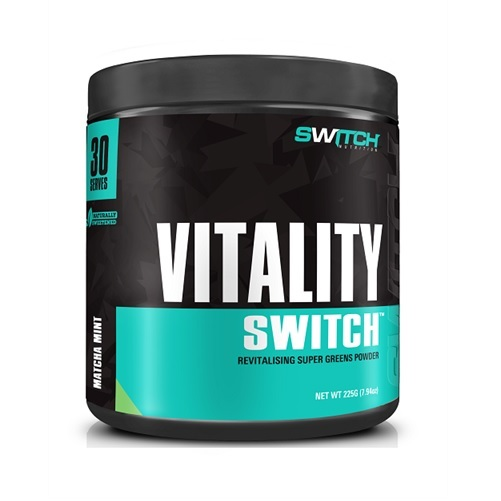 Vitality Switch - Revitalising Wholefood Green Juice - Matcha Mint (30 Serves)