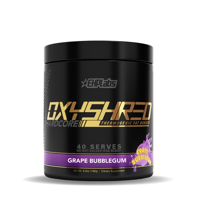 EHP Labs: OxyShred Hardcore - Grape Bubblegum (40 Serves)