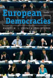 European Democracies by Jurg Steiner image