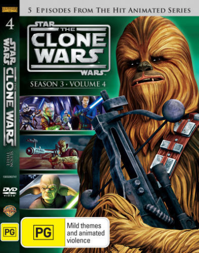 Star Wars: The Clone Wars - Season 3 Volume 4 on DVD