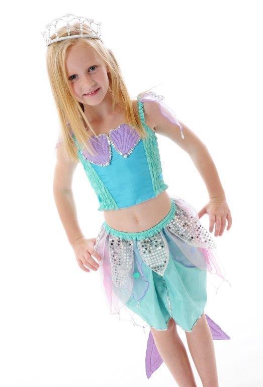 Fairy Girls - Pearl Mermaid Set (Medium, age 4-6)