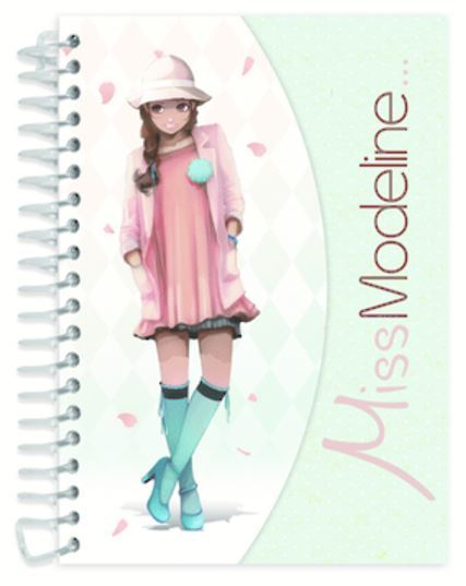 Miss Modeline A6 Notepad and Design Book - Leila
