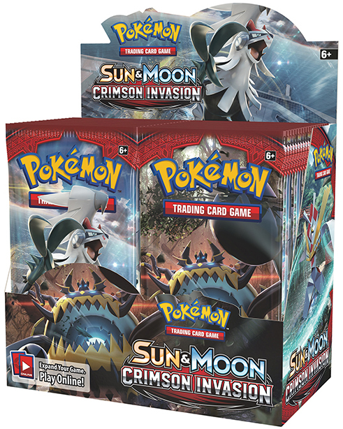 Pokemon TCG Crimson Invasion Booster Box