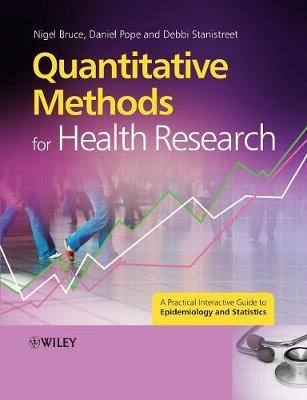 Quantitative Methods for Health Research by Nigel Bruce image