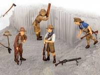 Revell 1/35 Anzac Infantry (1915) Scale Model Kit