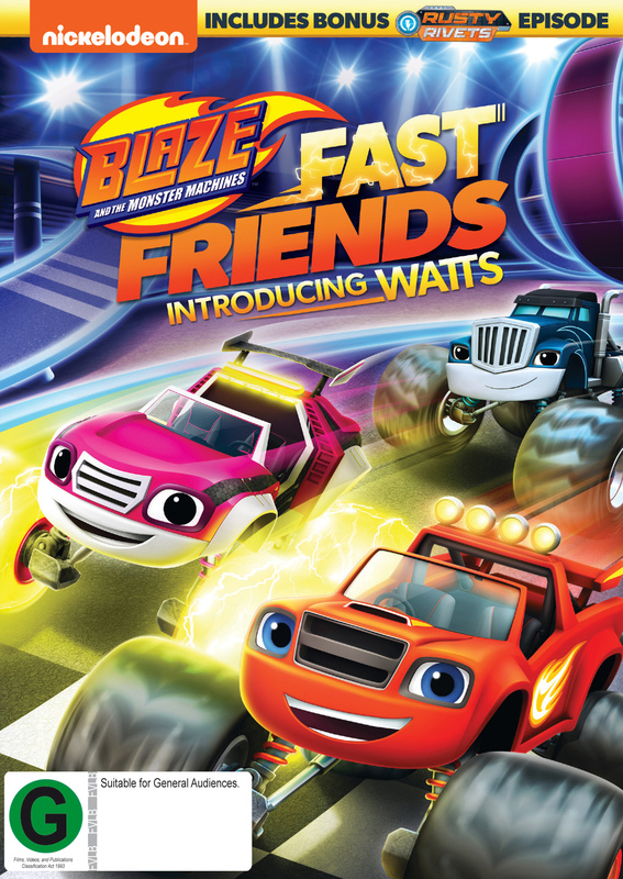 d250f9d65f7d Blaze And The Monster Machines: Fast Friends! | DVD | In-Stock - Buy Now |  at Mighty Ape NZ
