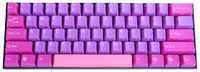 V60 Purple Dream ABS Double Shot Keycap Mechanical Keyboard - Cherry MX Brown image