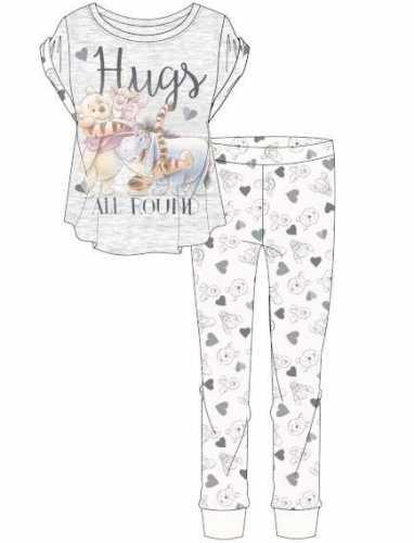 Winnie The Pooh: Hugs All Round Womens Pyjama Set - 8-10